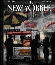 iPone painting newyorker
